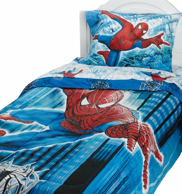 tolle-Spiderman-Bettwäsche-