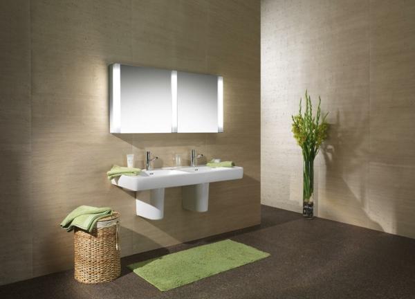 Badezimmer ideen fliesen leuchten dekoration - Beleuchtung badezimmer ideen ...