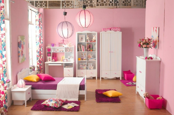 tolles-Design--Schlafzimmer-in-Rosa