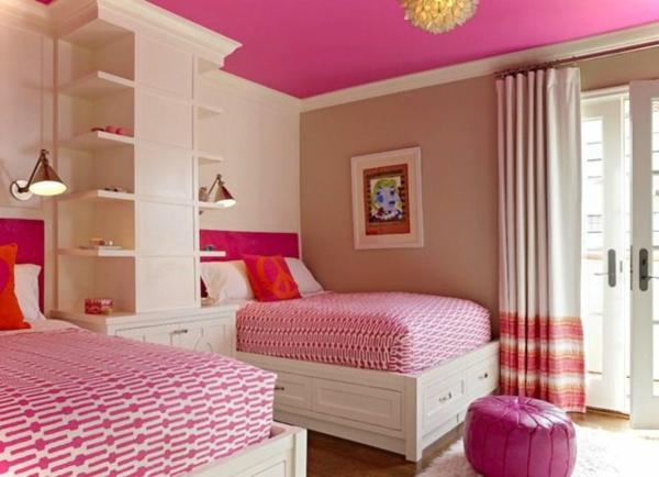 Farbe Schlafzimmer : Rosa Schlafzimmer ist eine super Idee!