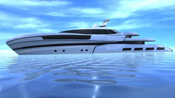 ultramoderne-luxus yachten