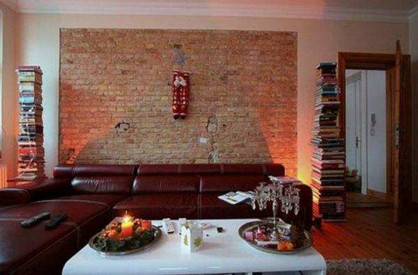 Fotos von origineller wohnzimmer wandgestaltung