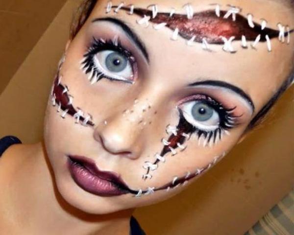 verblüffende-Halloween-Schmink-Idee-