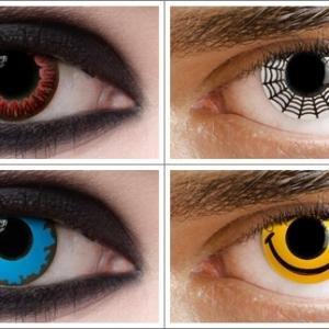 Kontaktlinsen für Halloween - 29 originelle Modelle!