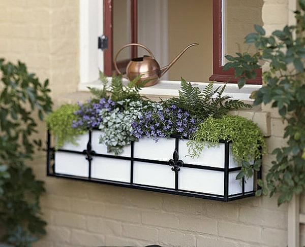 Deko Fur Lange Fenster : Blumenkasten für Balkon  wunderschöne Bilder!  Archzinenet