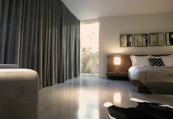 vorhänge-ideen-für-schlafzimmer-dunkle-gestaltung
