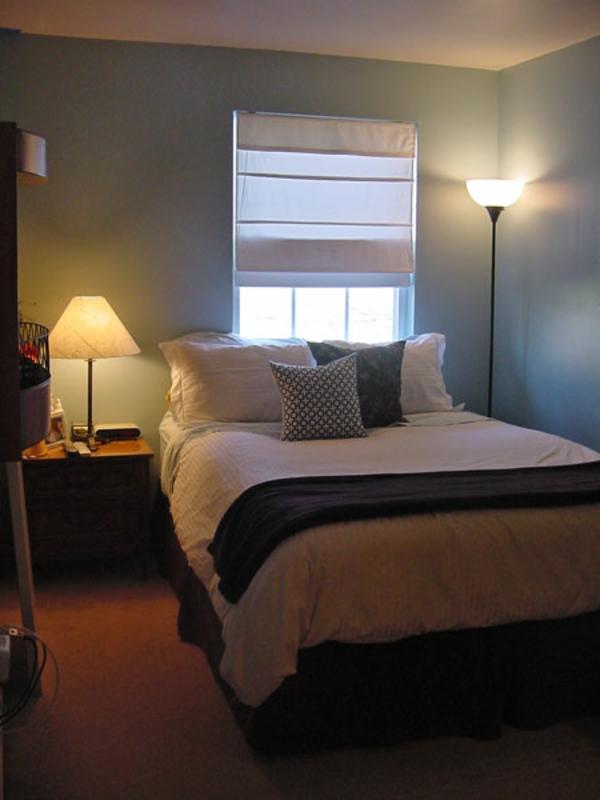 vorhänge-ideen-für-schlafzimmer-jalousien