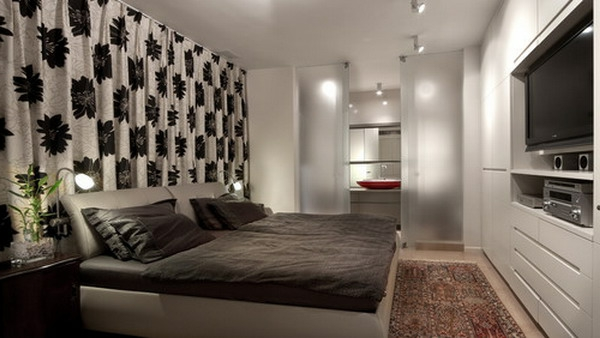 moderne vorh nge f r schlafzimmer m belideen. Black Bedroom Furniture Sets. Home Design Ideas