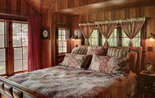 vorhänge-ideen-für-schlafzimmer-rustikales-modell