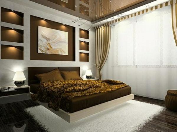 Schlafzimmer vorhänge modern ~ Übersicht Traum Schlafzimmer