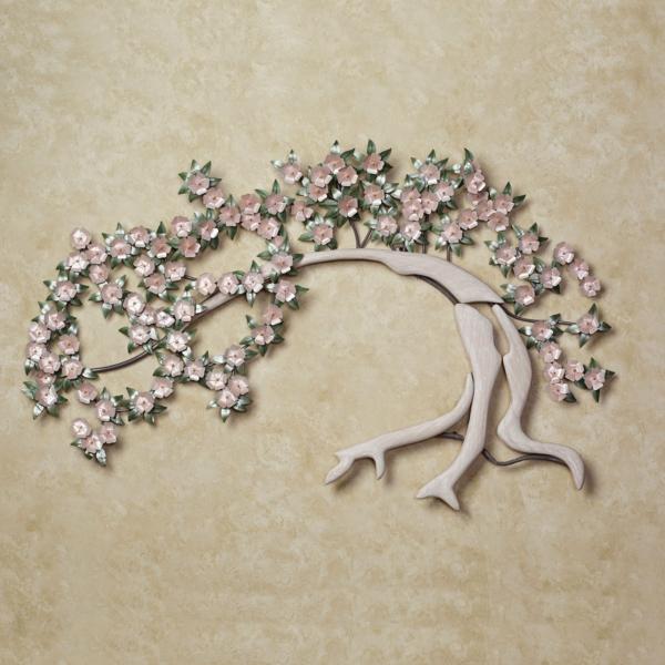 Wanddeko Aus Metall Baum Figur