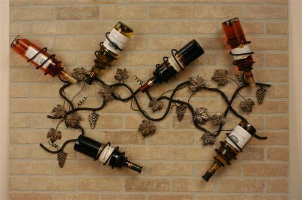 Metallic Farbe Fur Die Wand : Moderne Wanddeko aus Metall – in vier Teilen aufgeteilt