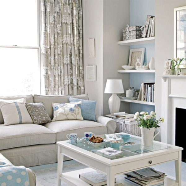 wandfarbe-hellgrau-modernes-wohnzimmer