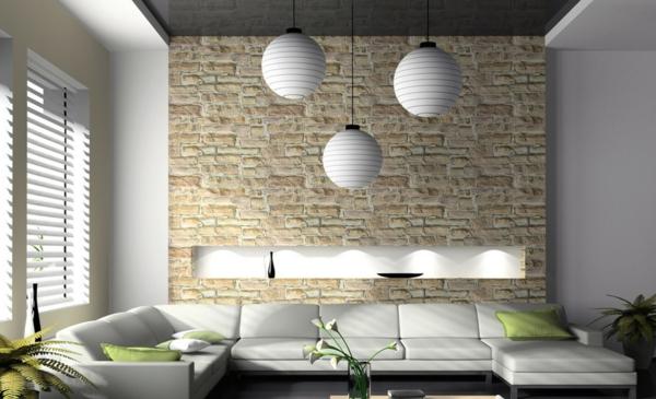 weiße-wohnzimmer-wandgestaltung
