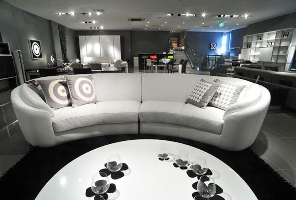 Wunderschöne Vorschläge Für Ein Halbrundes Sofa Archzinenet