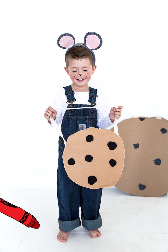 wenn sie einer maus ein cookie geben kostüm süße ideen einfache halloween kostüme selber machen diy ideen inspiration