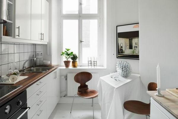 moderne gestaltung von einer einzimmerwohnung