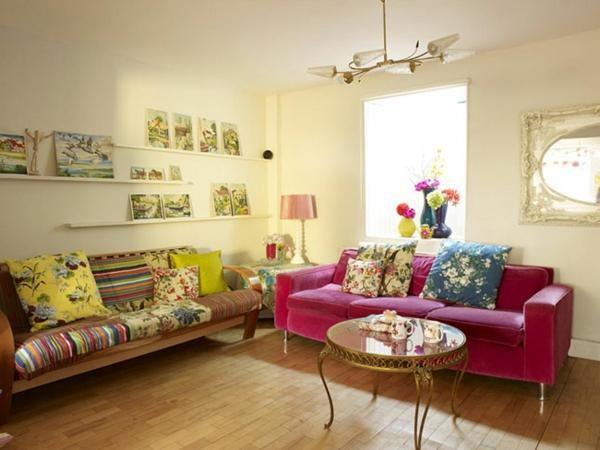 wohnzimmer einrichtungsideen bunt inspiration ber haus. Black Bedroom Furniture Sets. Home Design Ideas