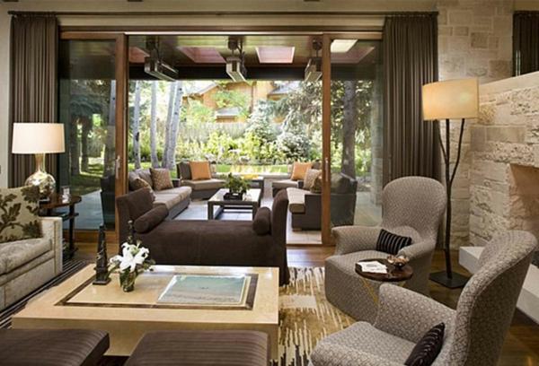 wohnzimmer-ideen-retro-design