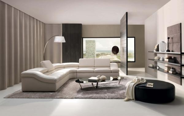 wohnzimmer-ideen-weißes-design