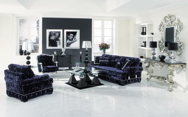 wohnideen barock und modern. Black Bedroom Furniture Sets. Home Design Ideas