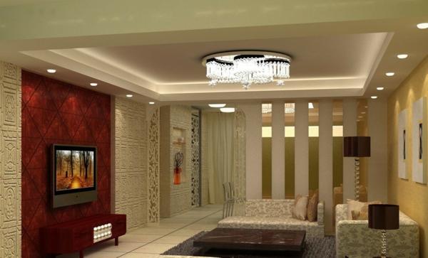 wohnzimmer-wandgestaltung-retro-look