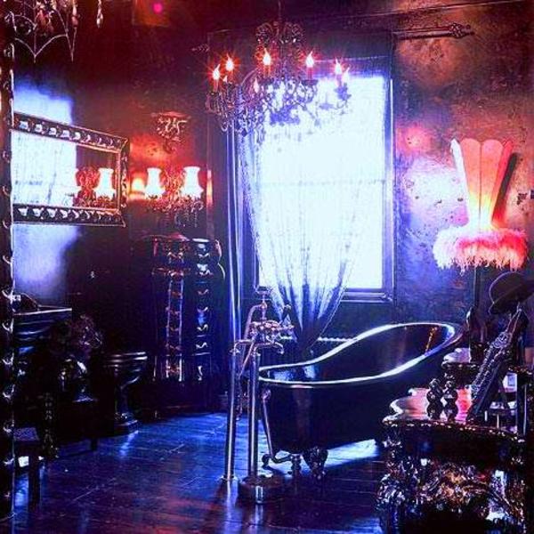 gothic badezimmer ausstatten