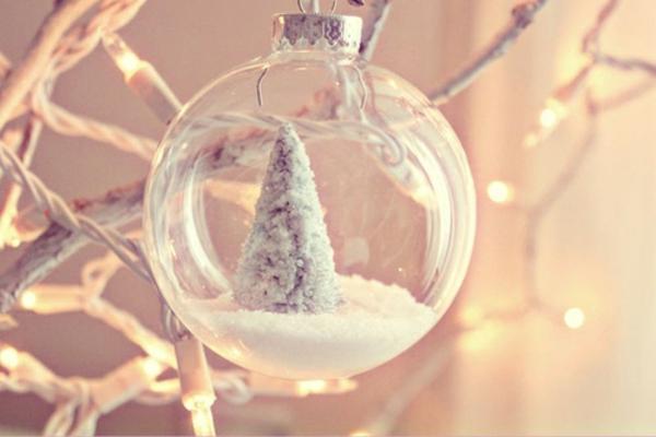 wunderbare-Dekoration-für-den- Weihnachtsbaum/Idee