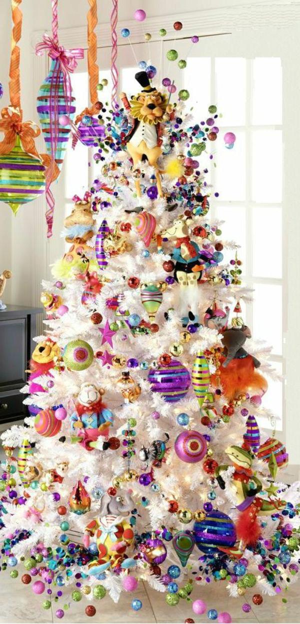 Wunderbare Weihnachtsbaum Deko Ideen