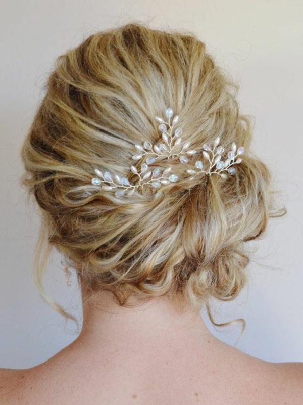 wunderbare-moderne- Hochzeitsfrisuren-Coole Haare