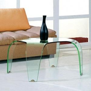 Beistelltisch aus Glas - attraktive Modelle!