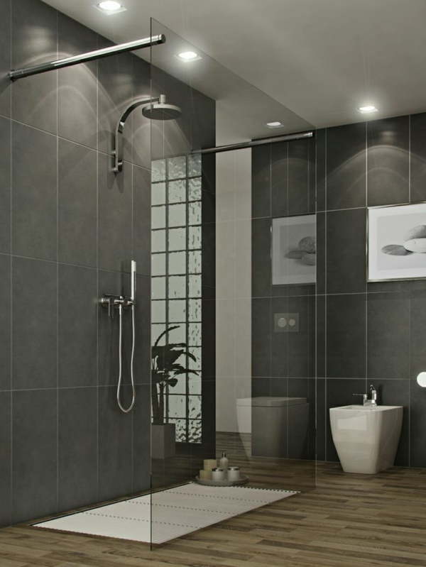 Open Shower Designs For Small Bathrooms