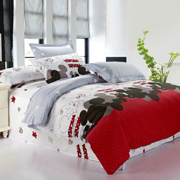 wunderschöne-Bettwäsche-Mickey-Mouse-Motive