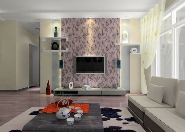 wunderschöne-helle-wohnzimmer-wandgestaltung