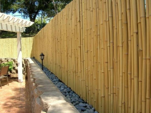 wunderschöner-Bambus-Sichtschutz-Idee