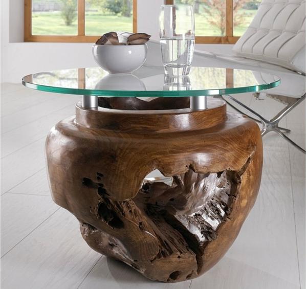 beistelltisch holz mit glasplatte. Black Bedroom Furniture Sets. Home Design Ideas