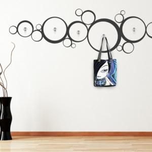 Wandtattoo Garderobe - eine originelle Idee!