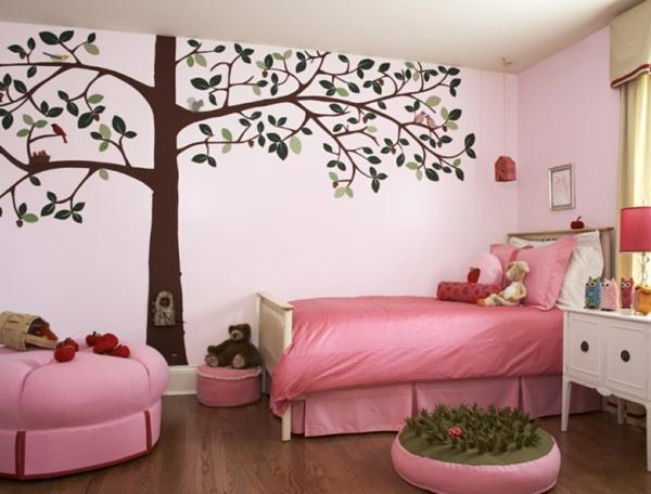 wunderschönes--Schlafzimmer-in-rosa-Farbe