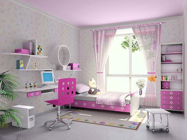 teenager zimmer dekorieren ideen raum und m beldesign. Black Bedroom Furniture Sets. Home Design Ideas