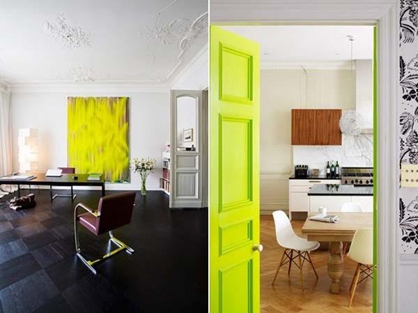 Akzente-wunderbares-Interior-mit-Neonfarben