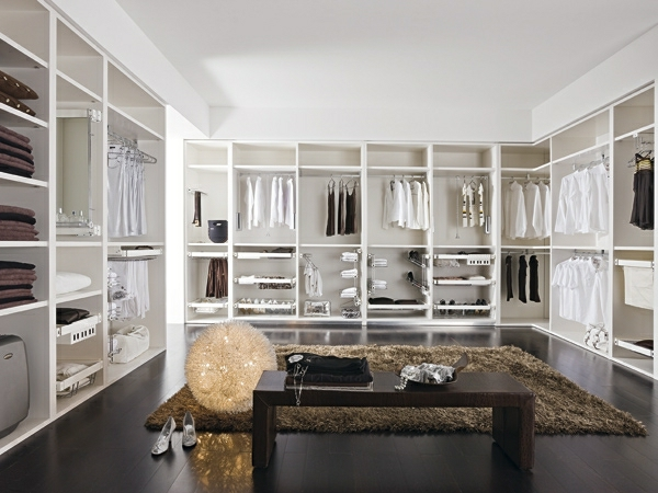 Luxus begehbarer kleiderschrank 120 modelle - Begehbarer kleiderschrank design ...