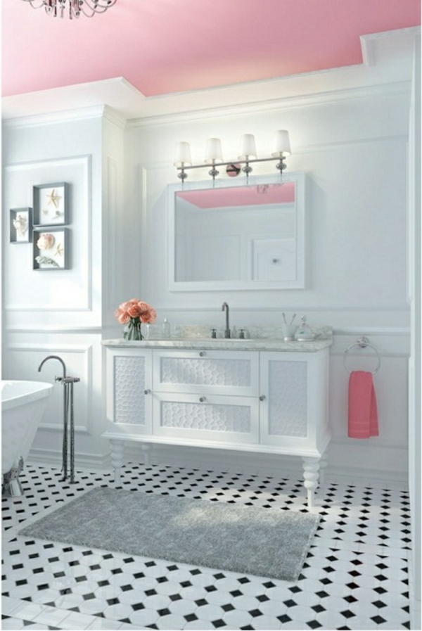 badbeleuchtung f r decke 100 inspirierende fotos. Black Bedroom Furniture Sets. Home Design Ideas