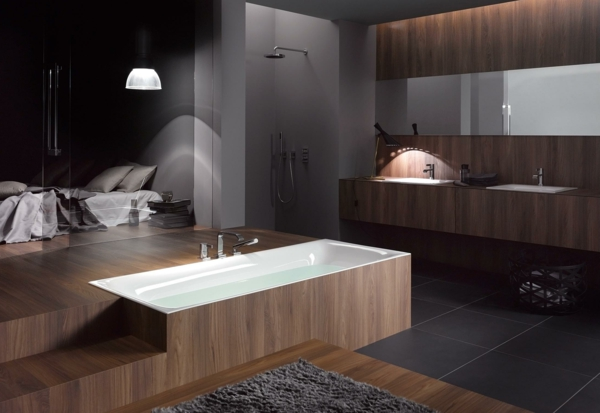 Modernes badezimmer ideen zur inspiration 140 fotos for Moderne badewannen design