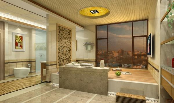 Badezimmer decke beleuchtung inspiration ber haus design for Einrichtungsideen badezimmer