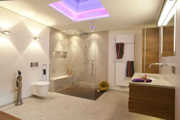Badezimmer-Planen-Design-in-Bonn-Köln-oder-Düsseldorf-Deckenbeleuchtung