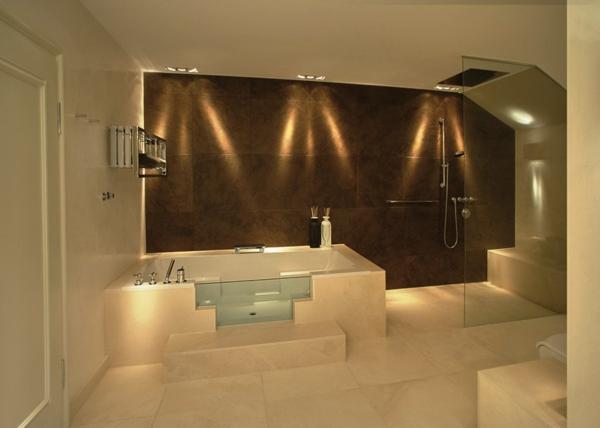 Badbeleuchtung f r decke 100 inspirierende fotos for Badezimmerleuchten design