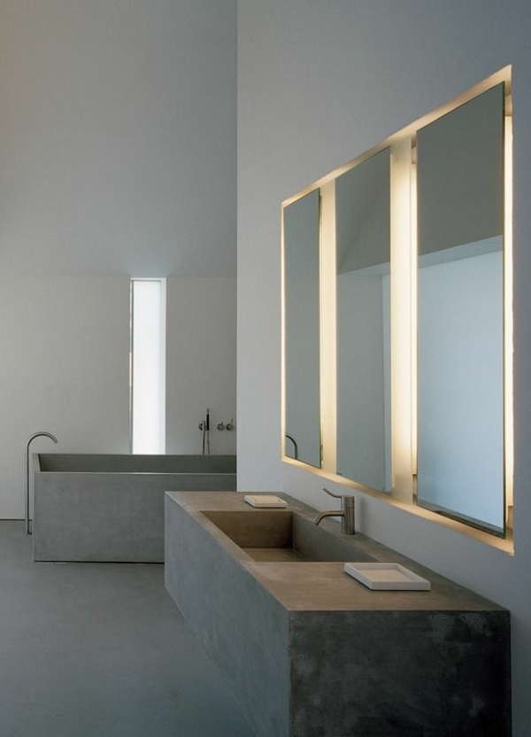 Badspiegel-mit-Beleuchtung-Ideen-für-eine-moderne-Badezimmereinrichtung-