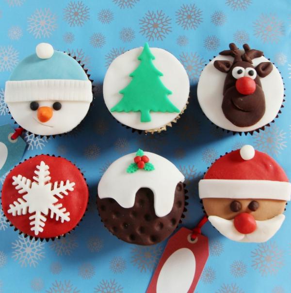 Cupcakes-Rezepten-für-Weihnachten-originelle-Ideen