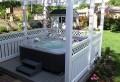 Whirlpool im Garten – 100 fantastische Modelle!