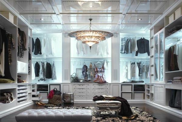 Begehbarer kleiderschrank design  Luxus begehbarer Kleiderschrank - 120 Modelle! - Archzine.net